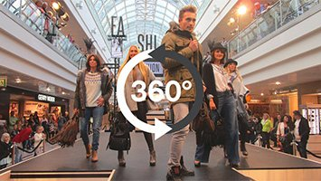 Fashion Show Fall 2015 - Olympia Einkaufszentrum (OEZ) - 360° Video